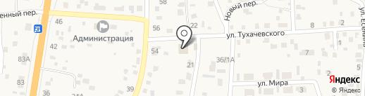 Серво на карте Сотниково