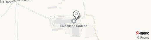 Байкал на карте Сотниково