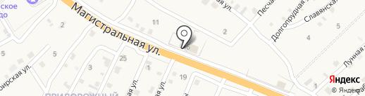 Продовольственный магазин на карте Сотниково