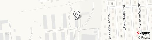 Дулан на карте Сотниково