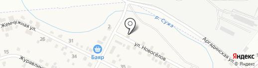 Первый на карте Сужи