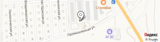 Транзит на карте Сотниково