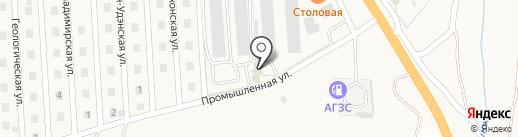 Производственная компания на карте Сотниково
