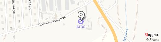 АГЗС на карте Сотниково
