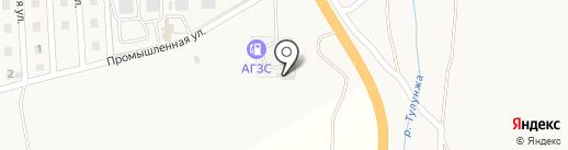 АЗС на карте Сотниково