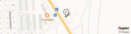 Трасса 55 на карте Сотниково