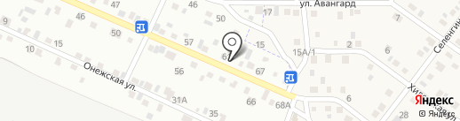 Иро на карте Улан-Удэ
