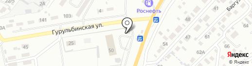 Фита на карте Улан-Удэ