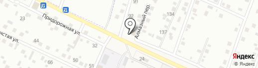 Сэлмэг на карте Улан-Удэ