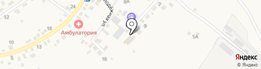 Магазин пиломатериалов на карте Нижнего Саянтуя