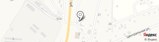 Шиномонтажная мастерская на карте Нижнего Саянтуя