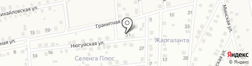 Туяа на карте Поселья