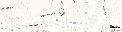 Ананда на карте Поселья