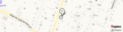 Посельская начальная общеобразовательная школа, МОУ на карте Поселья
