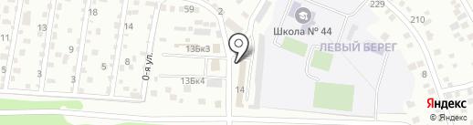 КапиталИнвестСтрой на карте Улан-Удэ