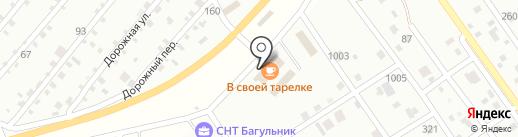 Магазин хозяйственных и строительных товаров на карте Нижнего Саянтуя