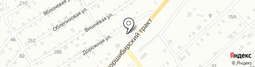 Строймастер на карте Нижнего Саянтуя