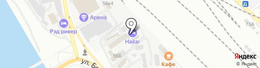 Хайлар на карте Улан-Удэ