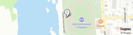 Вера на карте Улан-Удэ