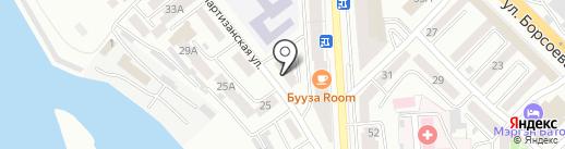 Пифагорка на карте Улан-Удэ