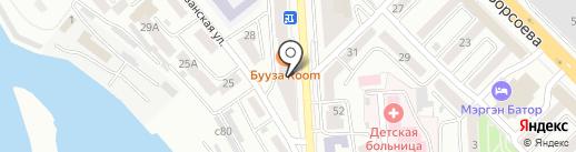 Хото на карте Улан-Удэ