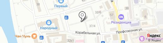 Чайхана на карте Улан-Удэ