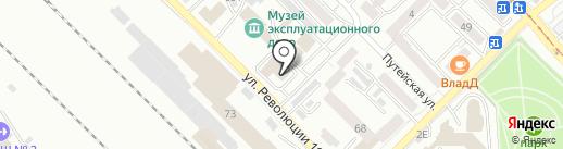 ОТЕЛЬ УЛАН-УДЭ на карте Улан-Удэ
