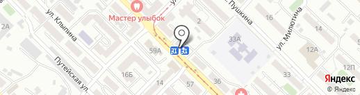 Аника на карте Улан-Удэ