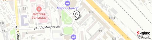NPS на карте Улан-Удэ