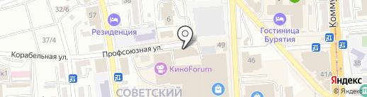 Study Kids на карте Улан-Удэ
