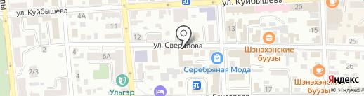 МУЗЫКАНТ на карте Улан-Удэ