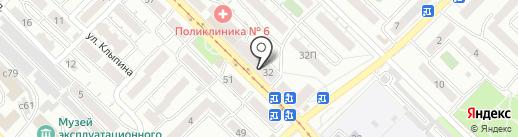 Кабинет юридических услуг на карте Улан-Удэ