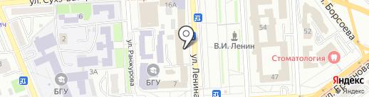 Багша на карте Улан-Удэ