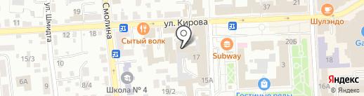 Национальная почтовая служба-Байкал на карте Улан-Удэ