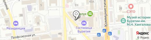 Диаманд на карте Улан-Удэ