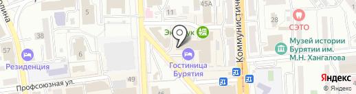 ПРОФИ-ЭСТЕТ на карте Улан-Удэ