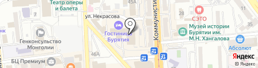 Souvenirs на карте Улан-Удэ