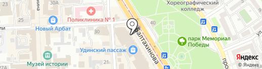 Центр кадастровых работ 03 на карте Улан-Удэ