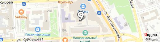 Mini Bambini на карте Улан-Удэ