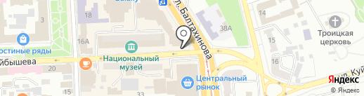 Денер Star на карте Улан-Удэ