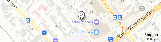 Шамбала на карте Улан-Удэ