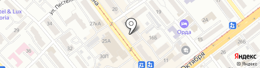 Магазин пуховиков и курток на карте Улан-Удэ