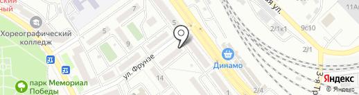 Ваниль на карте Улан-Удэ