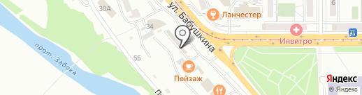 Лампочка на карте Улан-Удэ