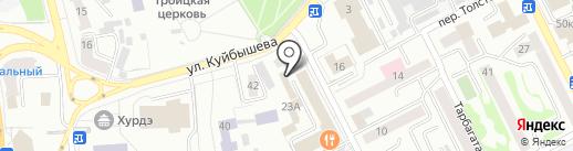 Багира на карте Улан-Удэ