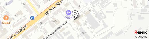 Водоканал, МУП на карте Улан-Удэ