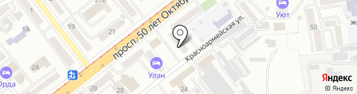 Банкомат, Почта Банк, ПАО на карте Улан-Удэ