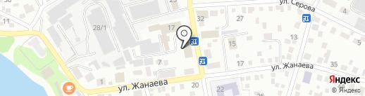 Пересвет на карте Улан-Удэ