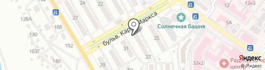Ремонтная мастерская на карте Улан-Удэ
