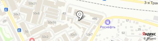 Домашний на карте Улан-Удэ